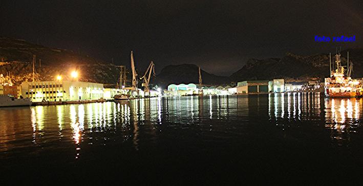 Título: Puerto de Cartagena