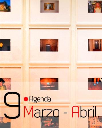 Agenda de Marzo y Abril